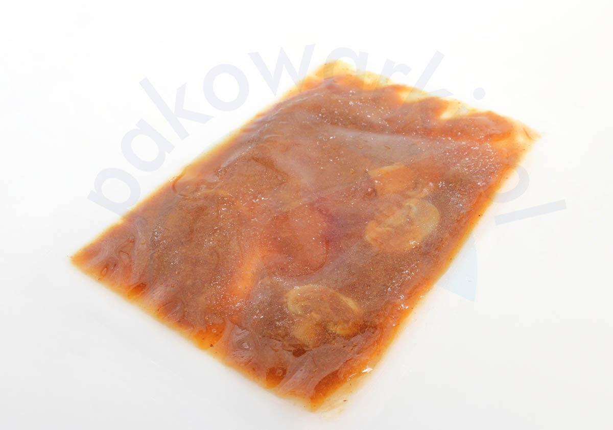 Pakowanie próżniowe produktów płynnych - zupa