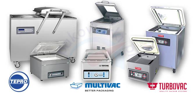 Pakowarki próżniowe - producenci: Tepro Multivac Turbovac